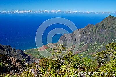 Kalalau Valley, Napali coast, Kauai