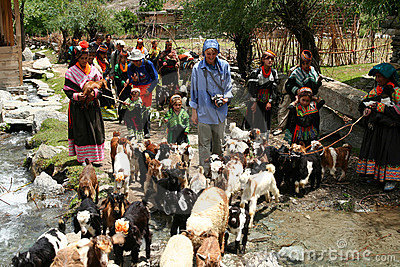 Kalasha people Editorial Photography