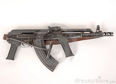 Kalashnikov AKMD assault rifle