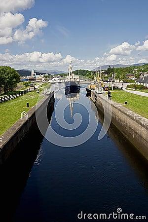 Kaledonischer Kanal Stockfotos Bild 7609083