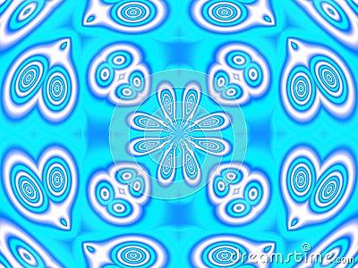 Kaleidoscope icy