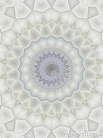 Kaleidoscope Patterns in Blue