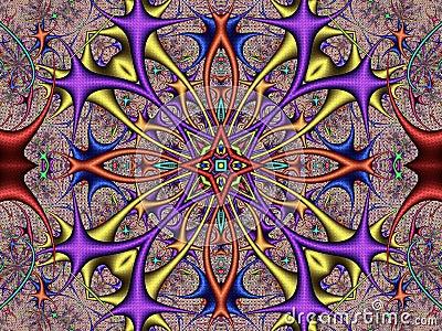 Kaleidoscope polyps