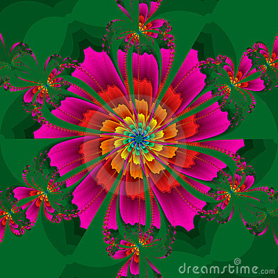 Kaleidoscopic Flower