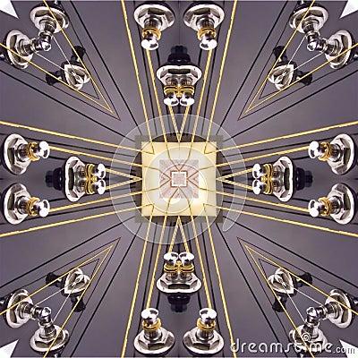 Kaleidoscopic guitar