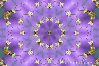 Kaleidoscopic Praying Mantis