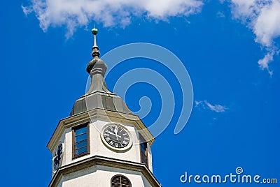 Kalemegdan Fortress clock tower, Belgrade