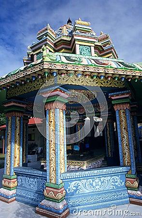 Kali tamil temple, Saint Andre, Reunion Island