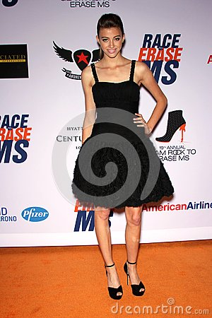 Kalia Prescott at the 19th Annual Race To Erase MS, Century Plaza, Century City, CA 05-19-12 Editorial Stock Photo