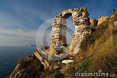 保加利亚kaliakra地标
