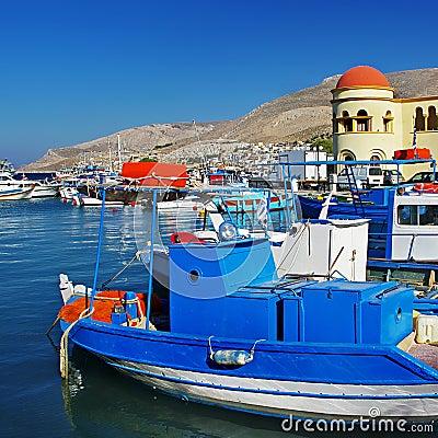 Kalimnos island Greece