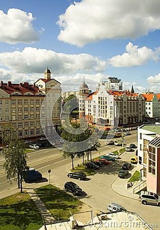 Free Kaliningrad Street Royalty Free Stock Images - 14336989
