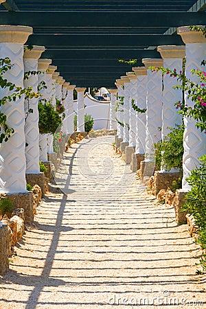 Free Kalithea, Spa Center Building In Rhodes. Greece Stock Image - 31741571
