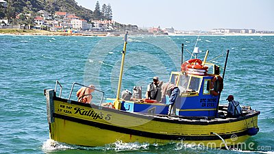 Kalk Bay Harbor Cape Town, South Africa Editorial Stock Image
