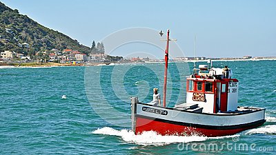 Kalk Bay Harbor Cape Town, South Africa Editorial Photography
