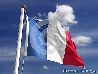 Kalkon för clippingflaggabana