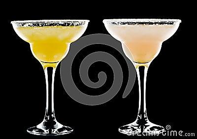 Kall alkoholiserad coctail
