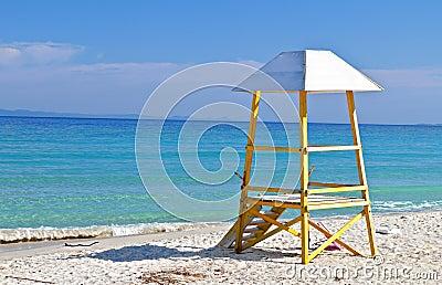 Summer resort at Halkidiki in Greece
