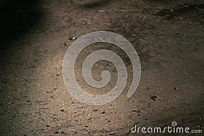 Kaloryferowy fluid na betonowej podłoga dostaje mopped up zbiory
