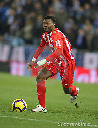 Kalu Uche of Almeria Editorial Stock Photo