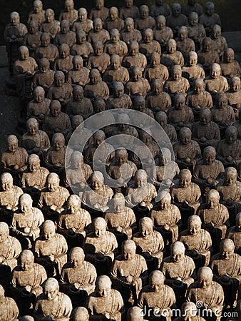 Kamakura 1001 monks