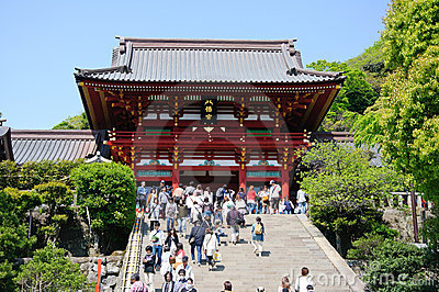 Kamakura, Japan Editorial Stock Image