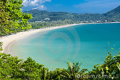 海滩kamala