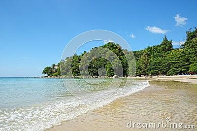 Kamala bay in Thailand island Phuket