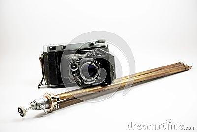 Kamery ekranowy stary fotografii stojak