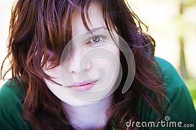Kamery kobieta ładna gapiowska