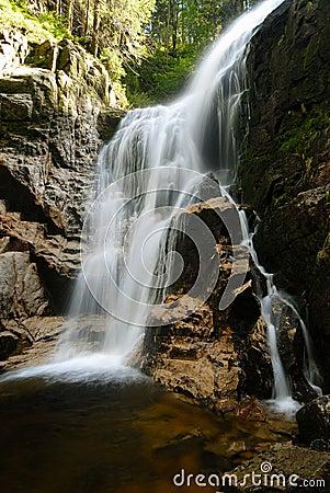 Free Kamieńczyk Waterfalls Royalty Free Stock Photo - 1223005