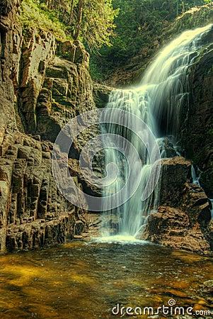 Kamieńczyk Waterfalls