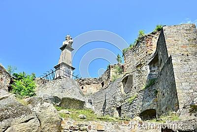 Kamieniec Castle in Odrzykon, Poland