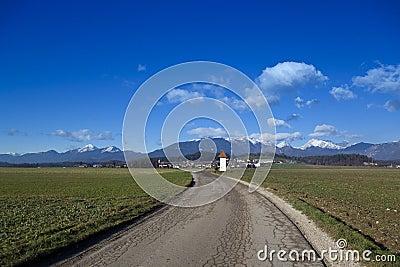 Kamnik Alps panorama
