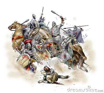 Kampf von Hastings - 1066