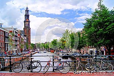 Kanäle von Amsterdam