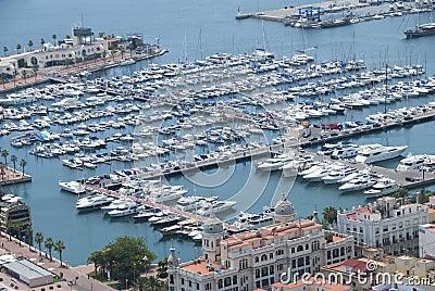 Kanal, Alicante, Spanien