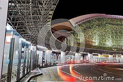 Kanawaza bus terminal
