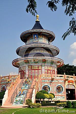 Kanchanaburi, Thailand: Chinese Temple