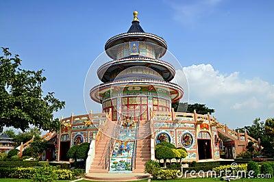Kanchanaburi, Thailand: Qing Shou Si Temple