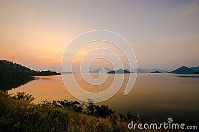 Kangkachan dam in Thailand