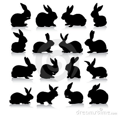 Kaninchenschattenbilder