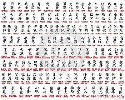 Kanji collection