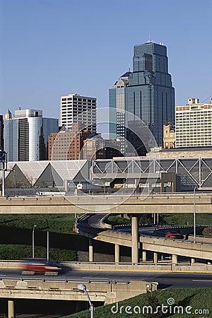 Kansas City skyline Editorial Image