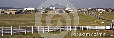 Kansas--Dodge City Skyline Pan