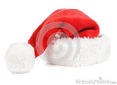 Kapeluszowy czerwony Santa