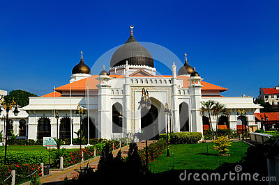 Kapitan Kling Mosque Editorial Stock Image