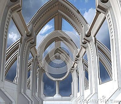 Kaplica futurystyczna