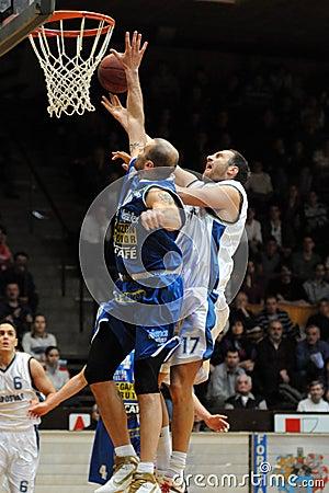 Kaposvar - Albacomp basketball game