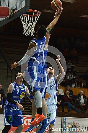 Kaposvar - Fehervar basketball game